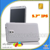 5.7 inch Quad Core Single Sim Mobile Phone with GPS,Android OS