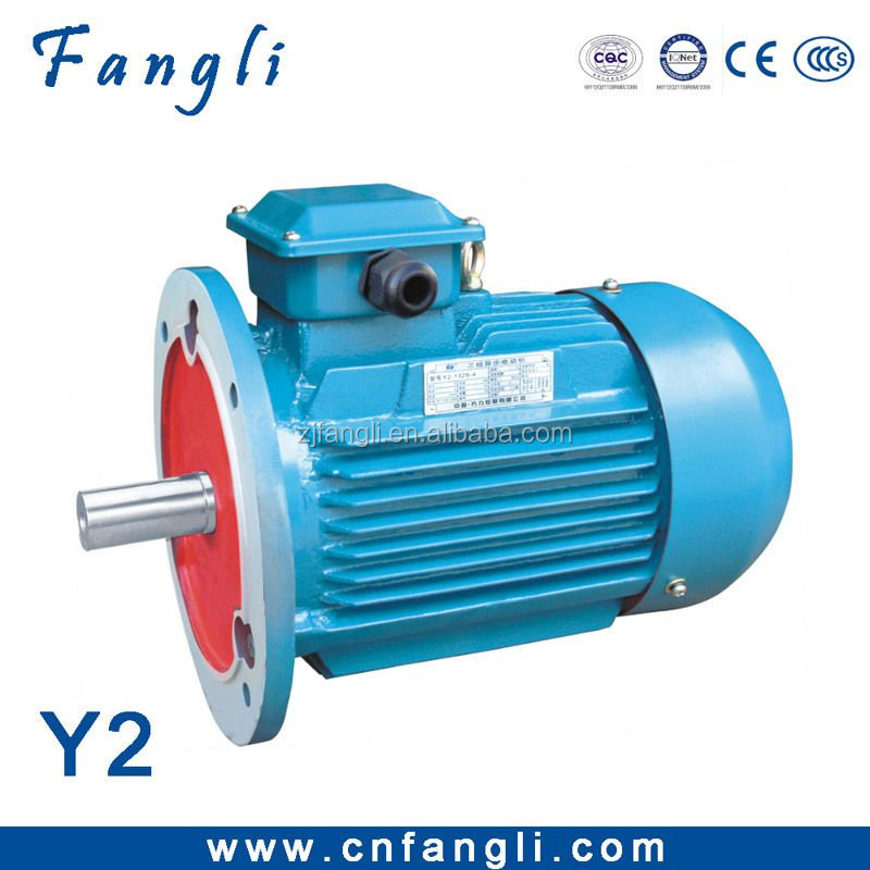 Y2 series 1.5hp electric motor 1.1kw three phase induction motor