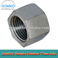 Galvanized Malleable iron pipe fitting caps