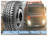 LINGLONG RADIAL TRUCK TYRES 8.25R16-All Position pattern LLA08