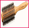 YASHI 2015 Wooden Handle Round Hair Brush for hot selling