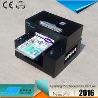 New design convenient operation a4 mini uv printer
