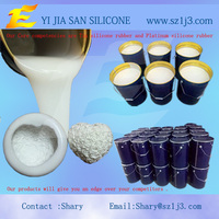 five hundreds casting times of the resin products silicone rubber