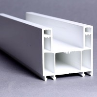 60mm 80mm 88mm Sliding / Casement Window and Door Profiles ASA color co-extruded mullion for window and door