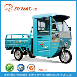 2 seat cargo Electric Tricycle