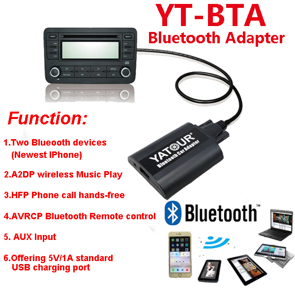 Yatour Car radio Bluetooth Adapter