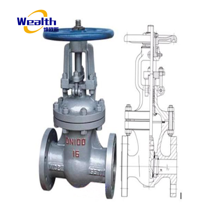 Foundry price flexible wedge gate valve, RVHX gate valve, stem gate valve