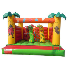 HI China Factory direct inflatable slide,inflatable combo ,inflatable jumping bouncer with palm tree
