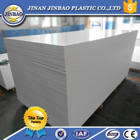 White PVC celuka forex sintra high density closed cell foam board 4x8