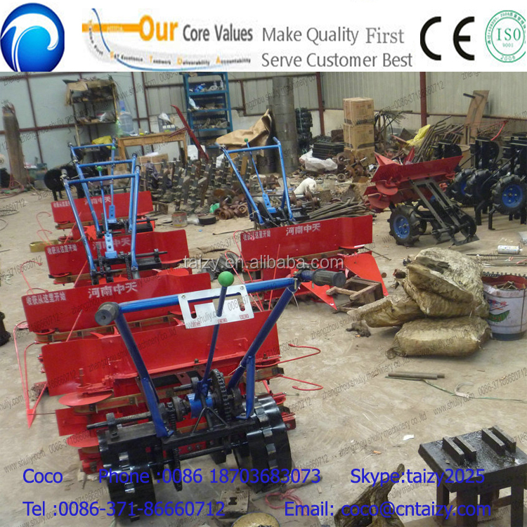 small walk type small combine rice harvester ,wheat harvester
