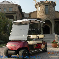 Solar 4 seats electric star golf cart