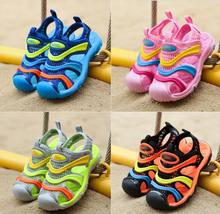 zm40145b fancy wholesale soft sole footwear protective sandals for baby kids