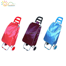 Foldable luggage cart multifunction magic outdoor sports travel bags