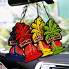 01 Hanging Car Air Freshener fragrance mixed Hanging Paper Car Air Freshener for Car, Home & Boat