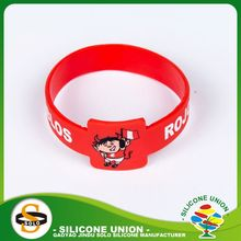 cheap lovely cartoon animal logo silicone wristbands