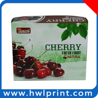 Printed packing box packaging Frozen refrigerator fruit packaging box
