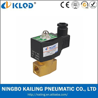 Cheap AB Series 2 Way Air Solenoid Valve 12V,24V,Normal Open/Closed Solenoid Valve