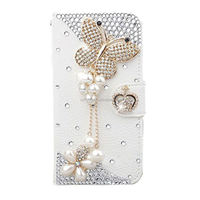 New Arrived For Samsung Galaxy Note 8 Bling Flip Leather Phone Case Wallet Leather Card Cover
