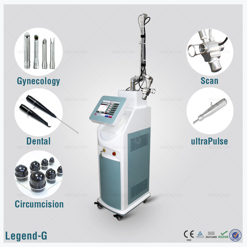 Skin care equipment CO2 fractional laser therapy instrument