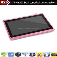 Allwinner A23 Dual core smart pad 7inch low cost tablet pc