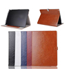 Hot Seling Oil Wax Leather Wallet Case for iPad Pro,for iPad Leather Case With Slot
