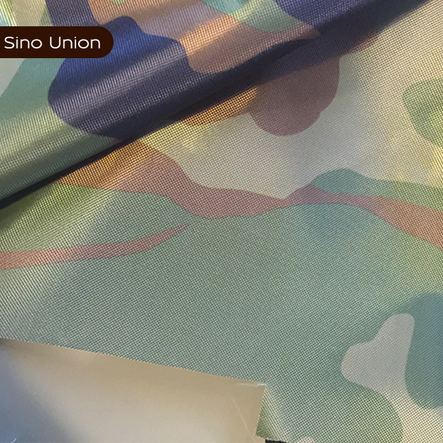 Woven camouflage patten 100% polyester fabric