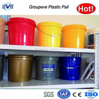 Plastic 1 Gallon Paint Bucket