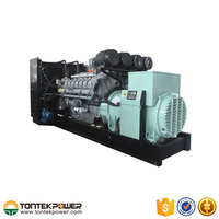 6Cylinder Output Power Water Cooling Diesel Electrical Generator Set