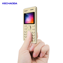 KECHAODA K116 plus Ultra-thin 1.8 inch Dual SIM dual standby Mini Polymer Battery Card <strong>Phone</strong> <strong>Mobile</strong> <strong>Phone</strong>
