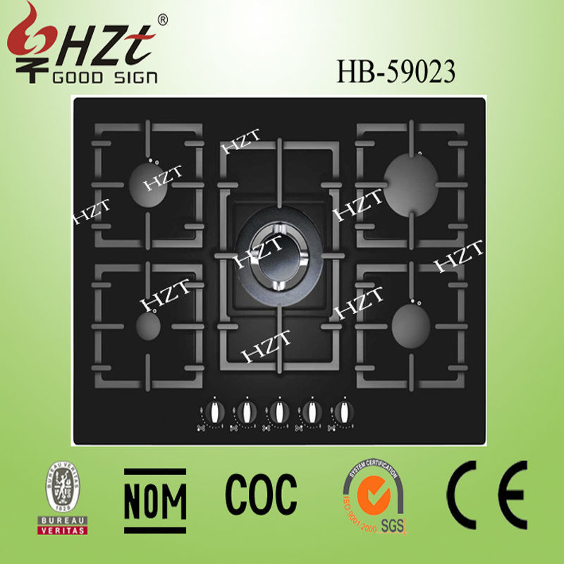 2016 Five Burner Gas hob chinese kitchen appliances manufacturer