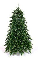 6FT Green Fiber Optic Artificial Christmas Tree With Pine Needle
