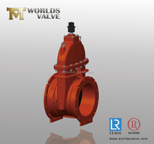 Bare Stem Ductile Iron Gate Valve With Valve Factory Price
