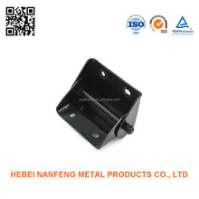 Black oxide coating stamping pieces of metal