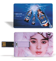 Popular bussiness card usb flash drive