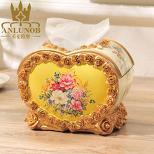Wholesale Homeliving Dedorative Luxury Paper Napkin Tissue Box Cover in Tissue Boxes
