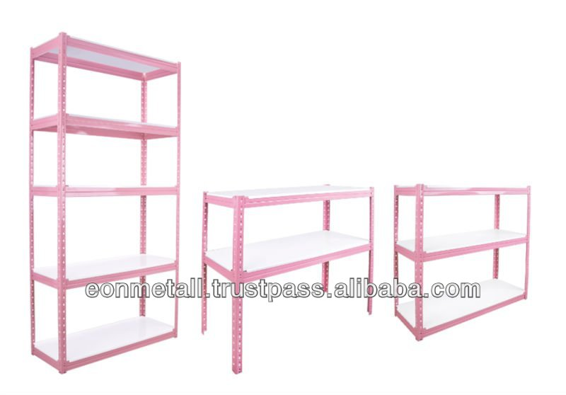 Display Color Rack (Boltless Rack) - Pink