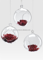wedding decorative 100mm clear glass ornament balls MH-12524
