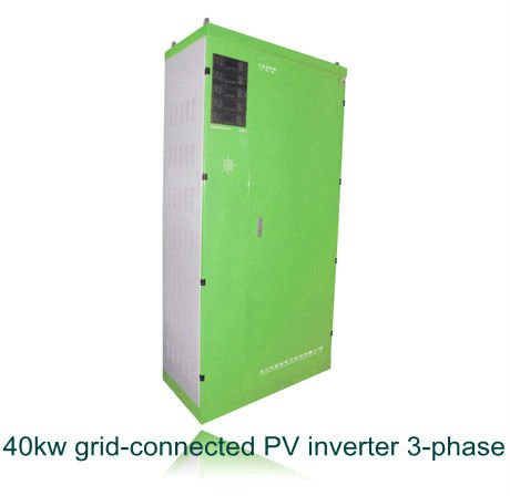 40kw Solar power on grid PV inverters, output 380V,tri-phase, with SAA,CE,ISO,G83,VDE certificate