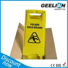 No parking caution sign board, hotel use sign board,Customized Plastic A Shape Caution