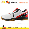 2018 latest badminton shoes men power cushion design and ergo shape sole professional indoor badminton shoes