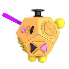 Hottest Item 2 generation anti stress newest fidget cube for adult and children