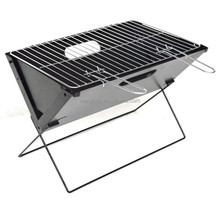 X Shape Folding Barbecue Charcoal Grill With Wire Leg