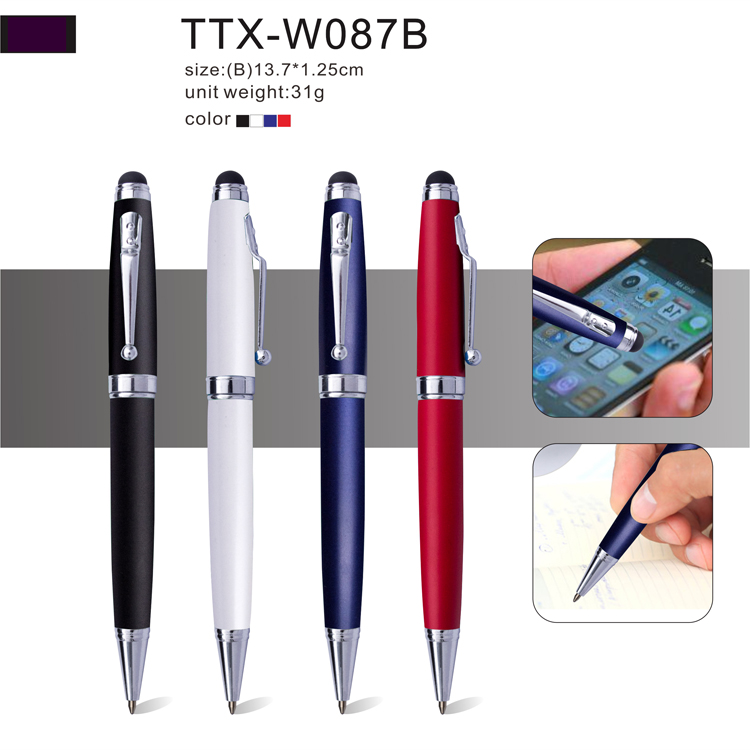 Hot selling cheap ad promotion gift mobile phone tablet stylus pen
