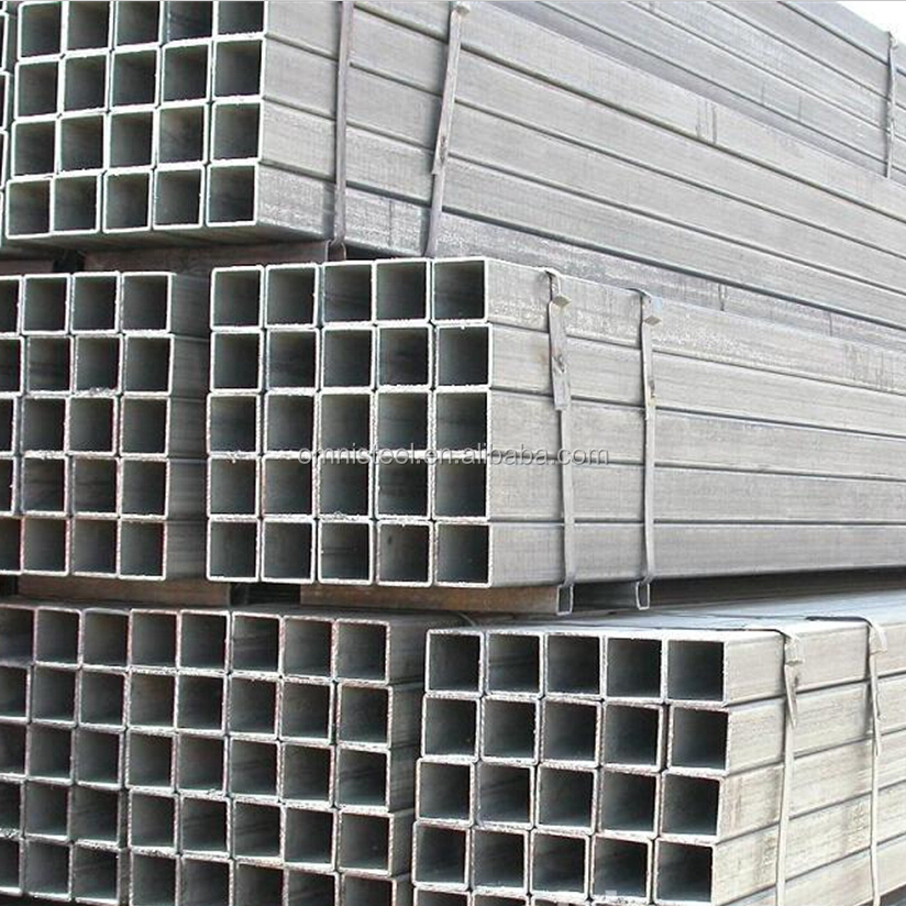 carbon steel tubes / black square steel pipe (Q235B, ASTM A36, SS400, S335JR)