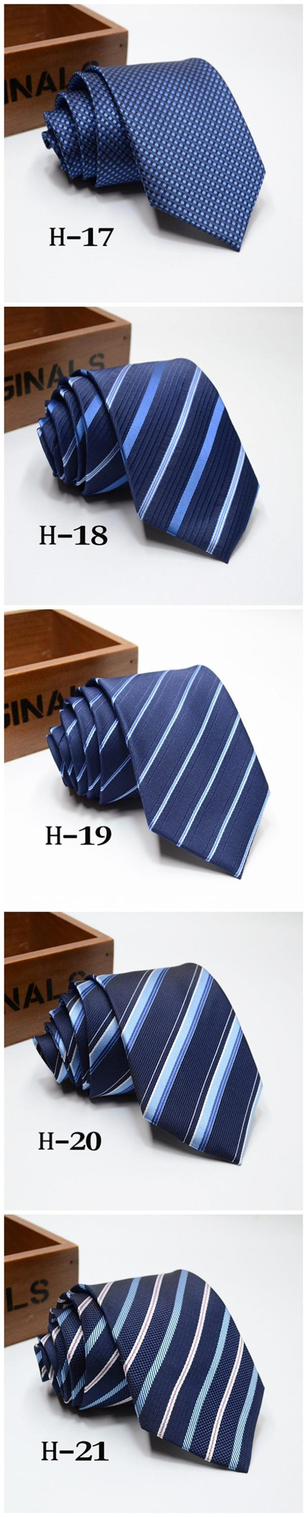 Men's Polyester Striped Neck Tie for Wholesale