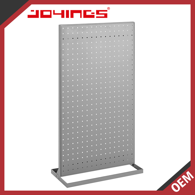 Factory Price Alibaba Floor Standing Diy Free Standing Pegboard Display Stand