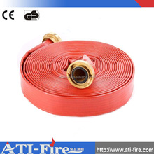 65mm 70mm 80mm Fire-fighting equipment PVC rubber pipe flyboarding hose fire hose price