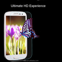 9H 3D High quality unbreakable phone protective glass for samsung galaxy s3mini