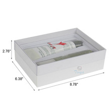 Clear lid view top skin cosmetic product box