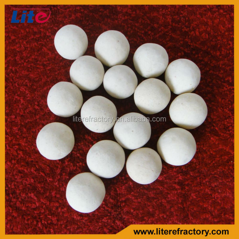 henan Refractory supply regenerative ball for cracking furnace